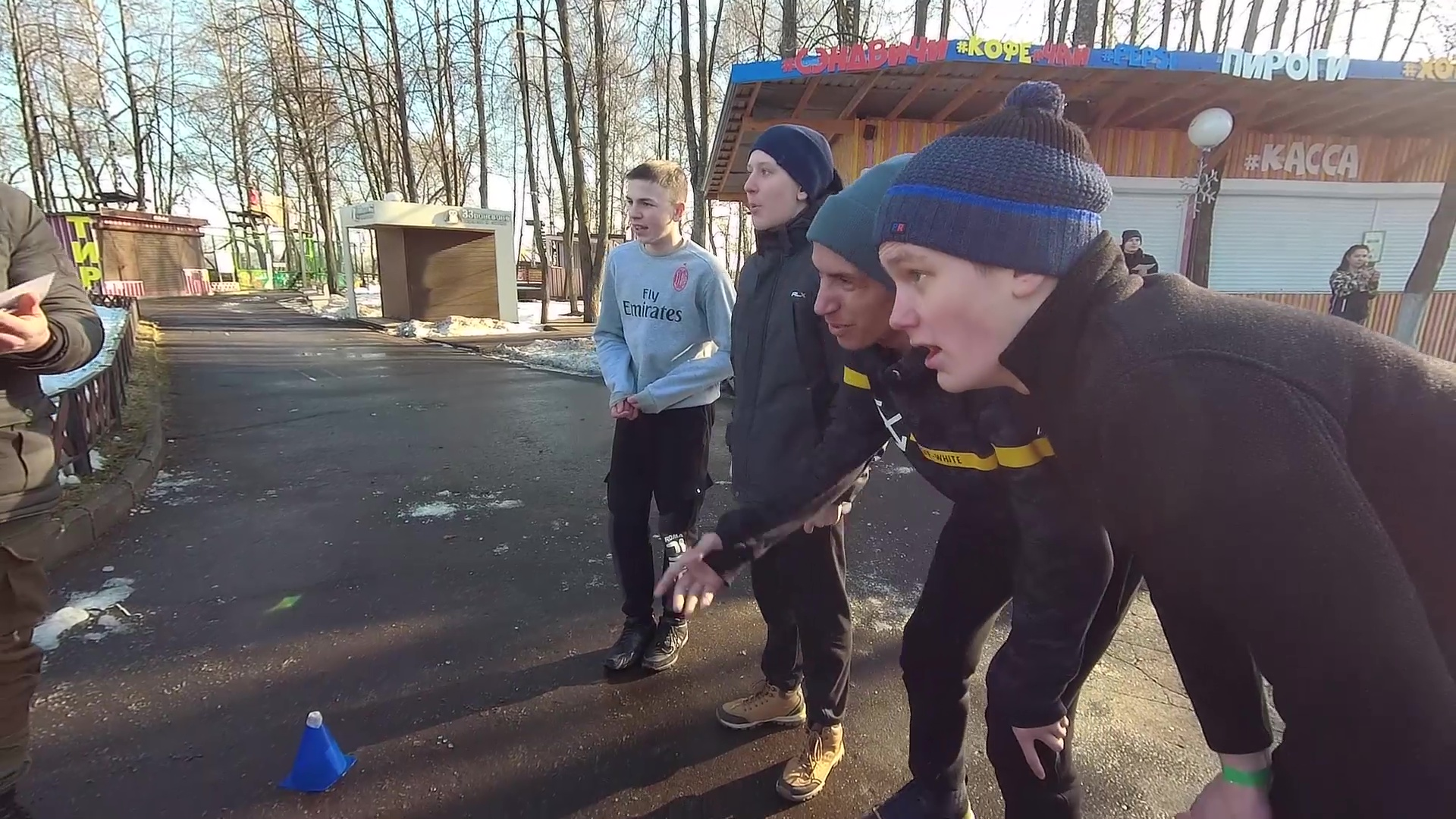 Соревнования на силу, скорость и интеллект: в Ярославле прошел «Зимний рубеж»