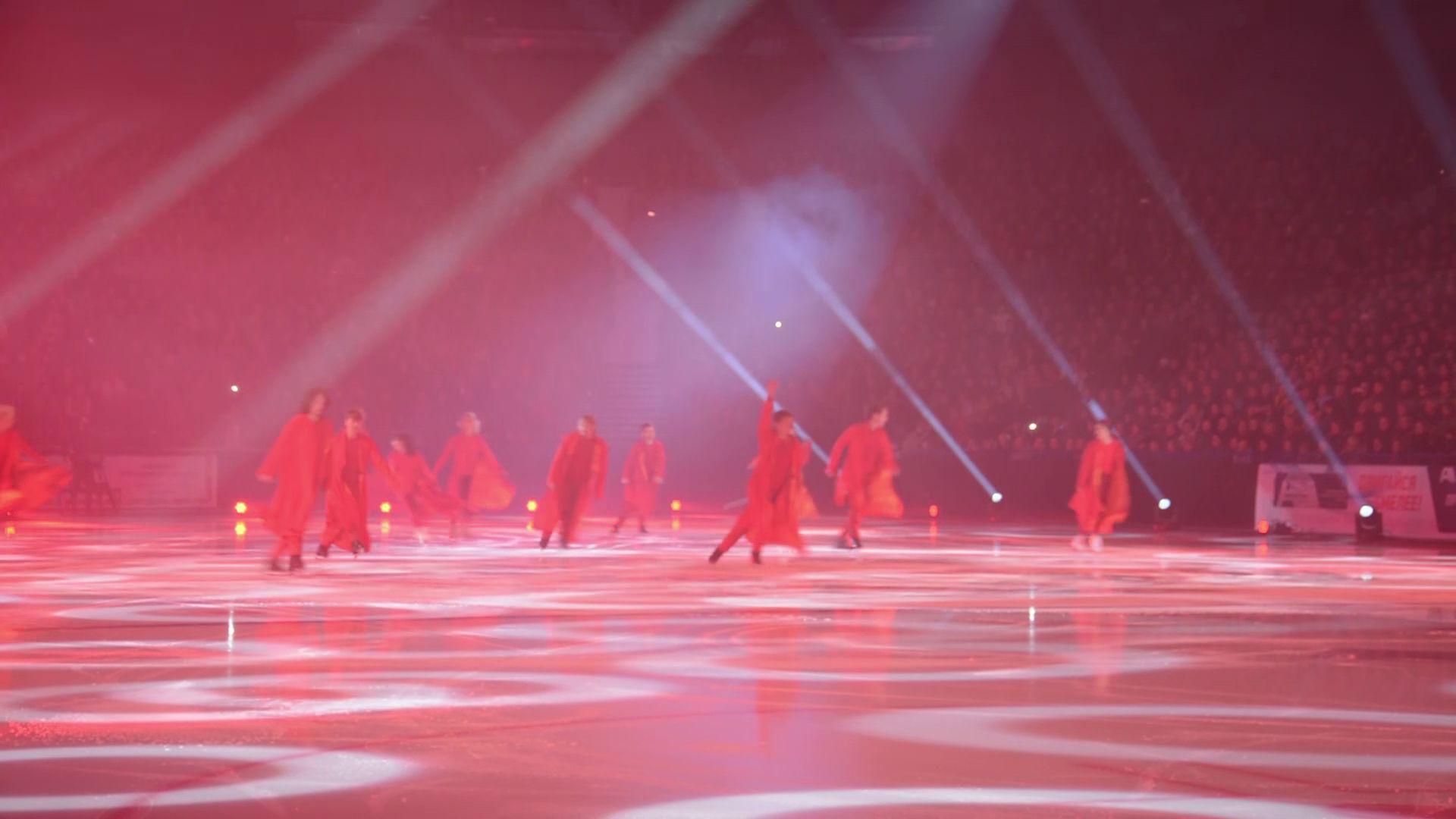 В Ярославле на льду выступили обладатели высших наград олимпиад, чемпионатов мира и Европы