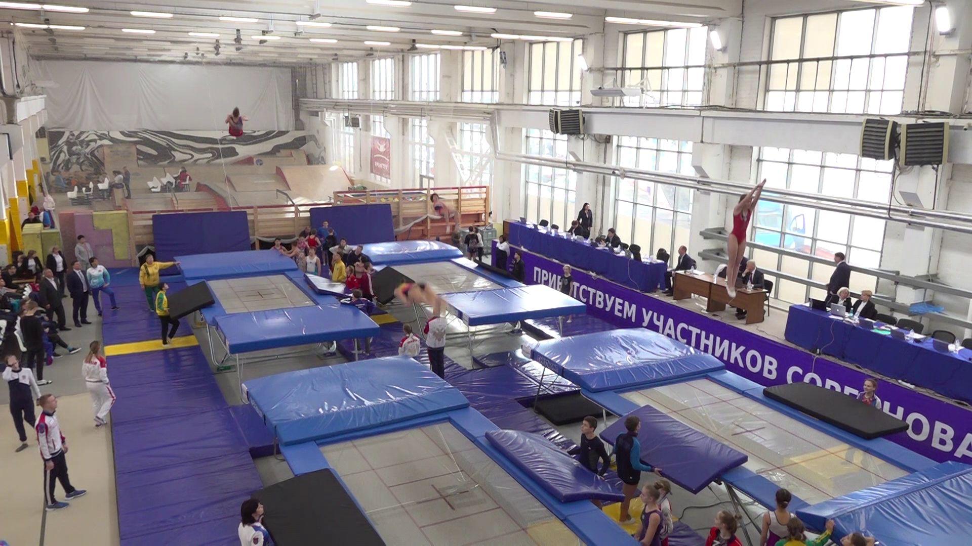 Лучшие из лучших: в Ярославле стартовал Кубок России по прыжкам на батуте