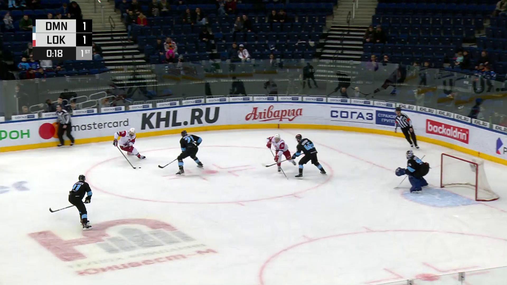 «Локомотив» одолел минское «Динамо»