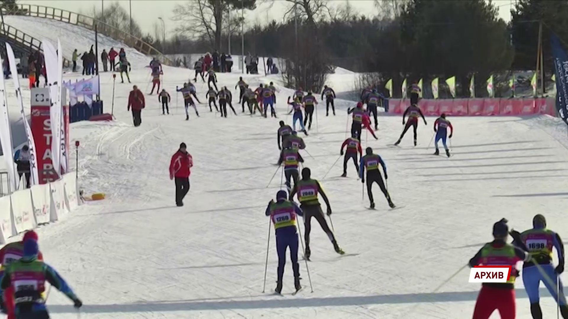 В Демино идут последние приготовления к лыжному марафону