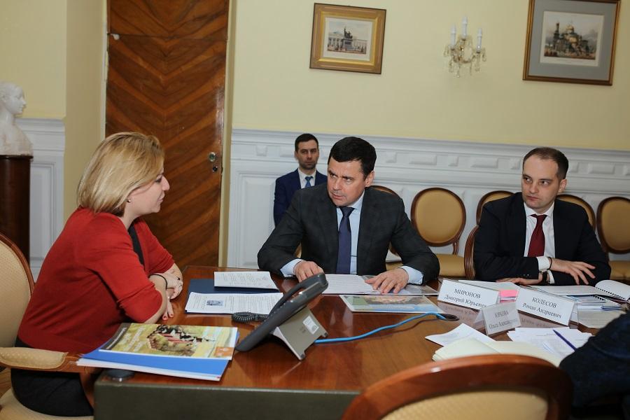 Дмитрий Миронов обсудил с министром культуры РФ реставрационные работы на объектах культурного наследия в регионе