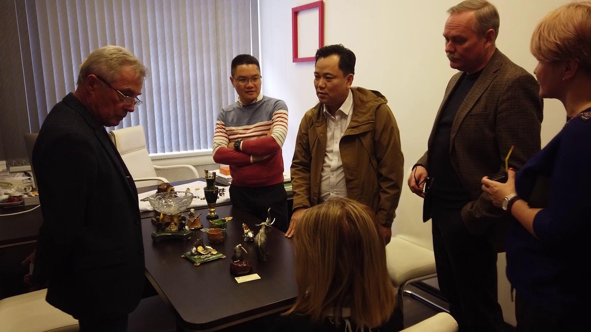 Ярославской продукцией заинтересовалась делегация из Вьетнама