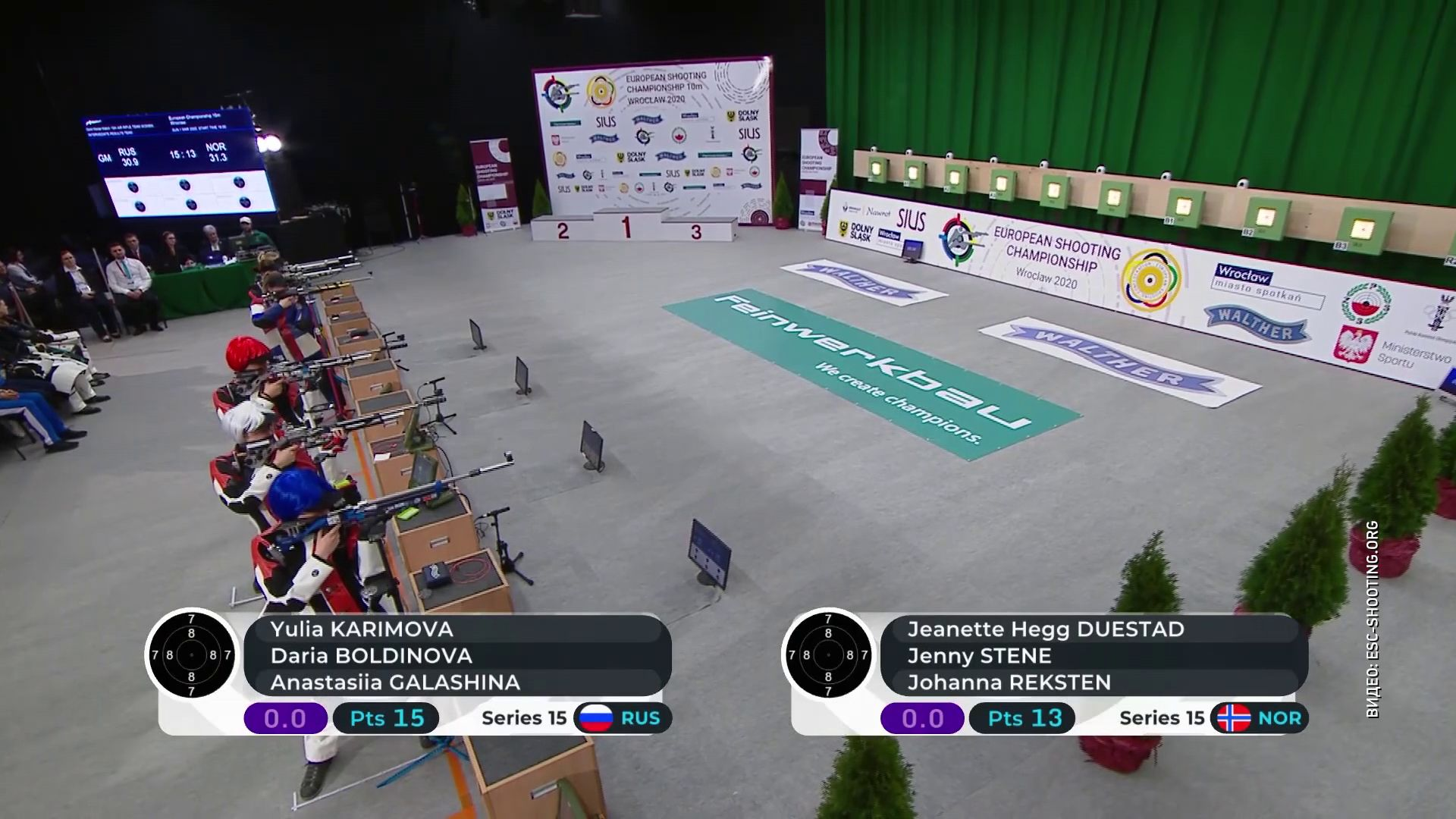 Ярославна выиграла чемпионат Европы по стрельбе
