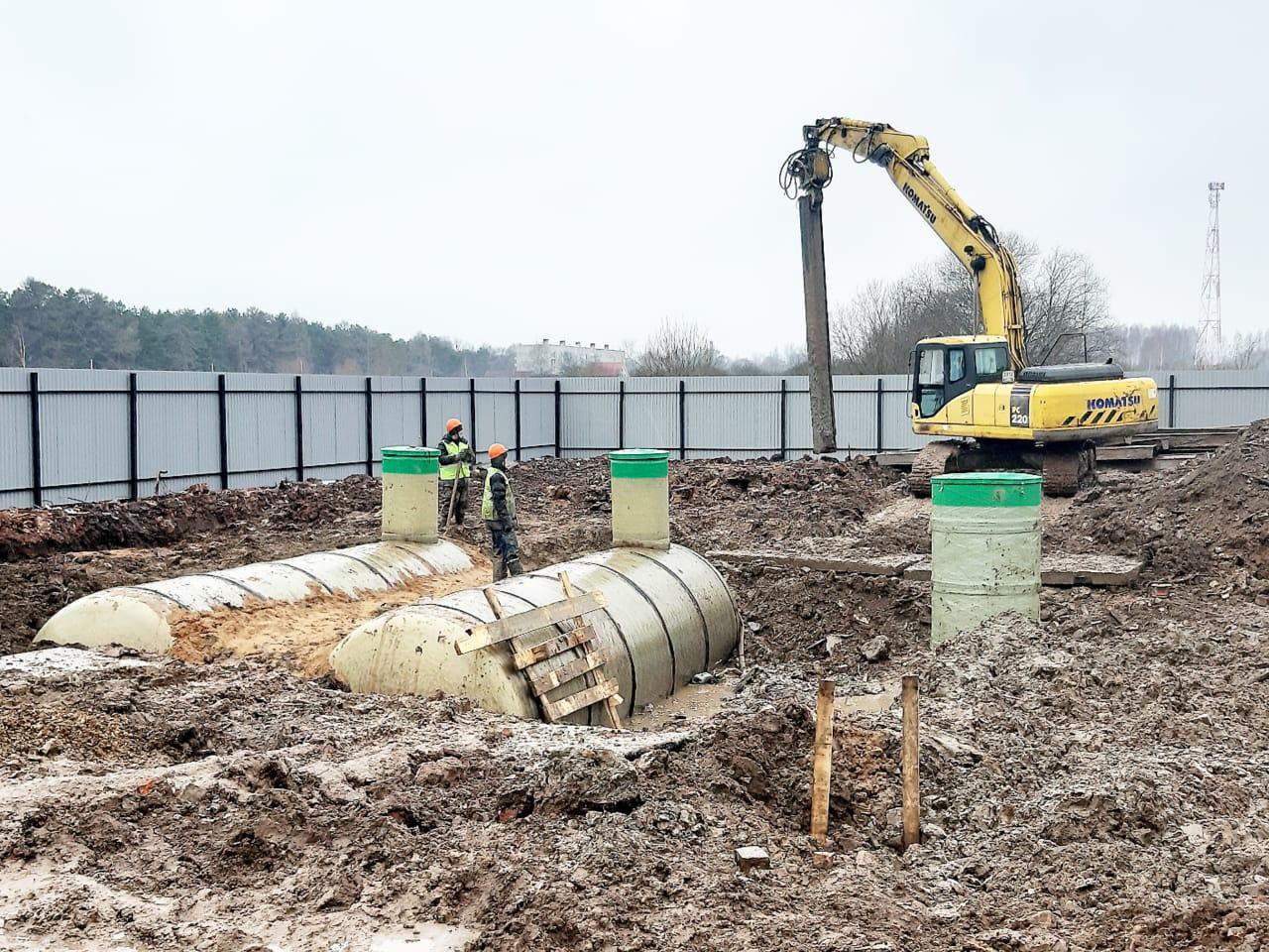 В поселке Красный Профинтерн началась реконструкция очистных сооружений