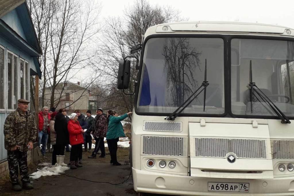 Мобильный флюорограф начал выезды в села Угличского района