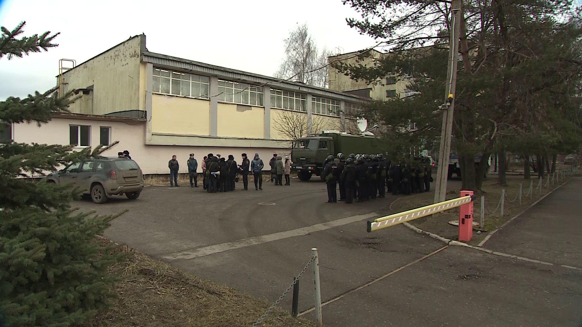 В Ярославле силовики оцепили Полушкину Рощу
