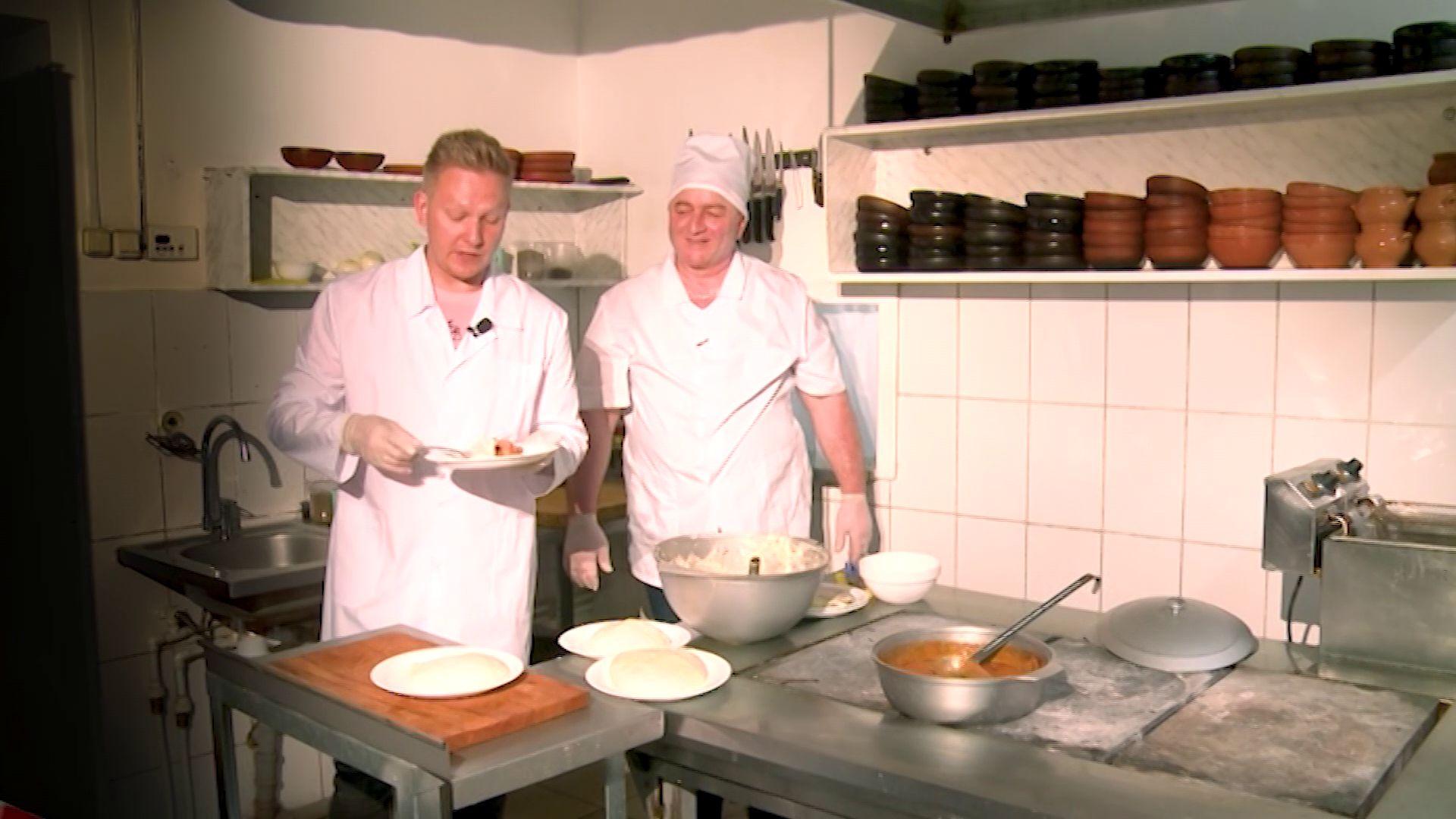 «Овсянка» от 5.03.2020: учимся готовить вкуснейшее грузинское блюдо - эларджи с куриным харчо