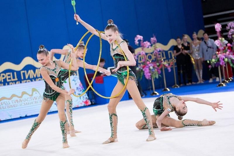 Ярославна удачно выступила на международном турнире по художественной гимнастике «Miss Valentine – 2020»
