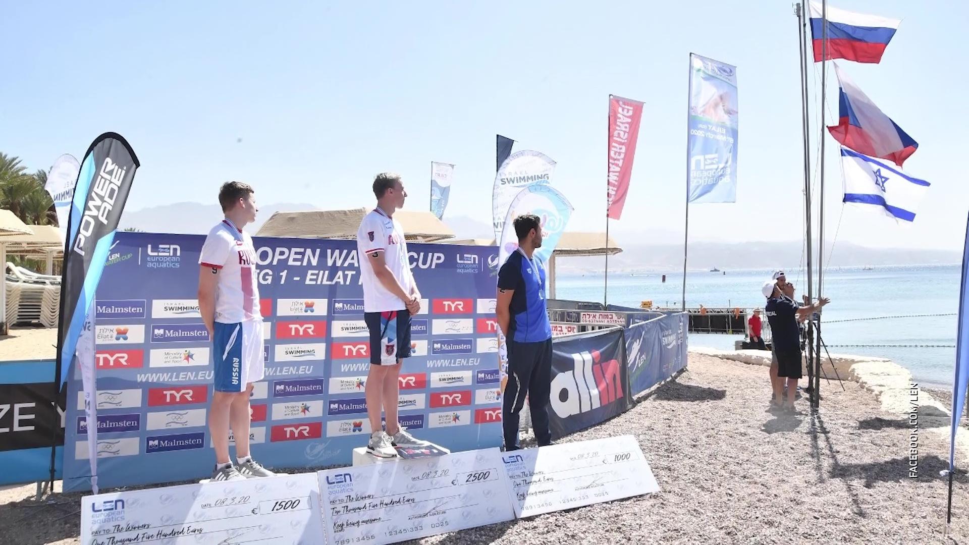 Ярославец выиграл этап Кубка Европы по плаванию на открытой воде