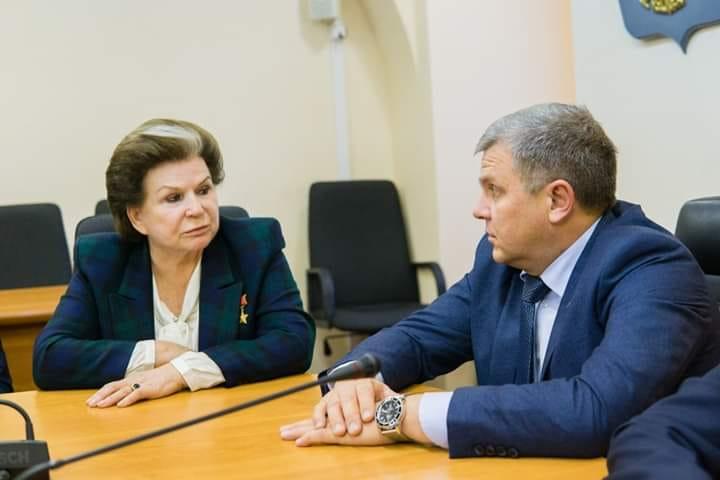 Алексей Константинов: «Людям, которые пытаются бросить тень на Валентину Терешкову, должно быть стыдно»