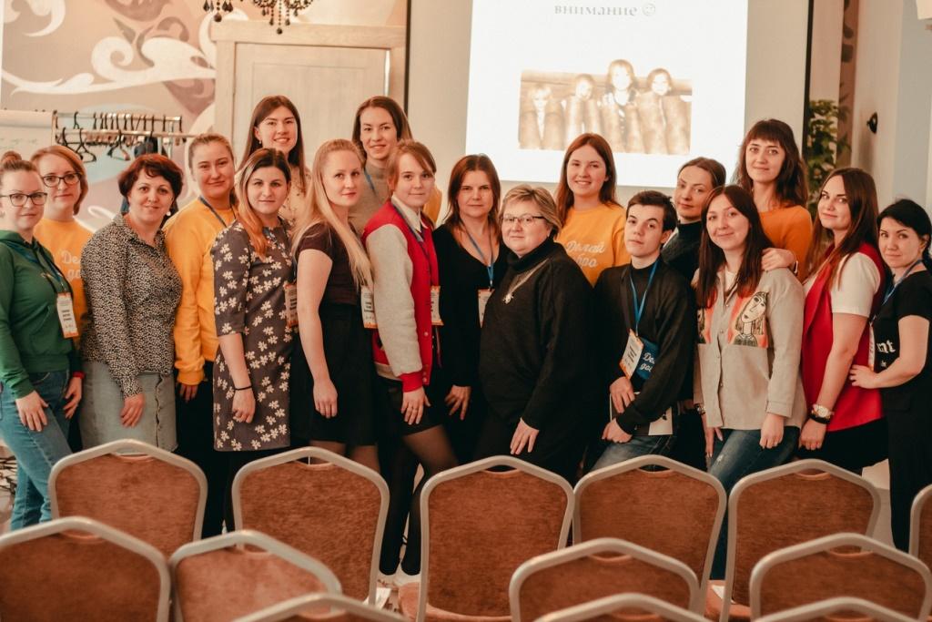 На семинаре по развитию волонтерского движения разработали новые проекты