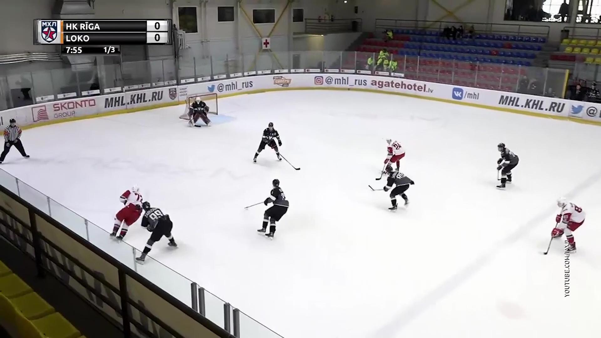 «Локо» вышел в четвертьфинал Кубка Харламова