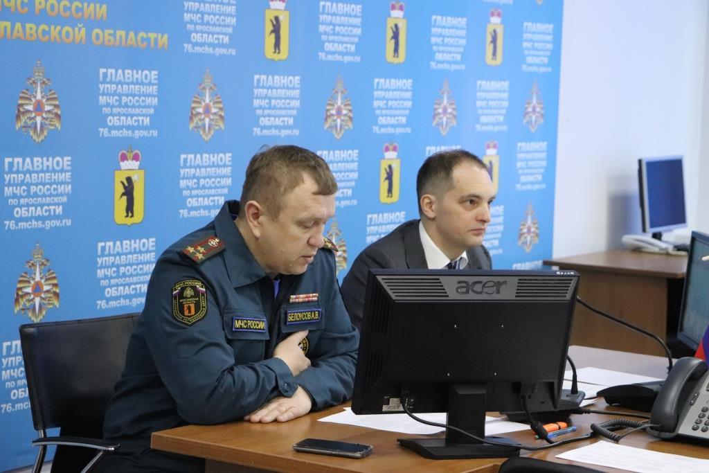 На заседании областного штаба обсудили обеспечение безопасного прохождения весеннего половодья