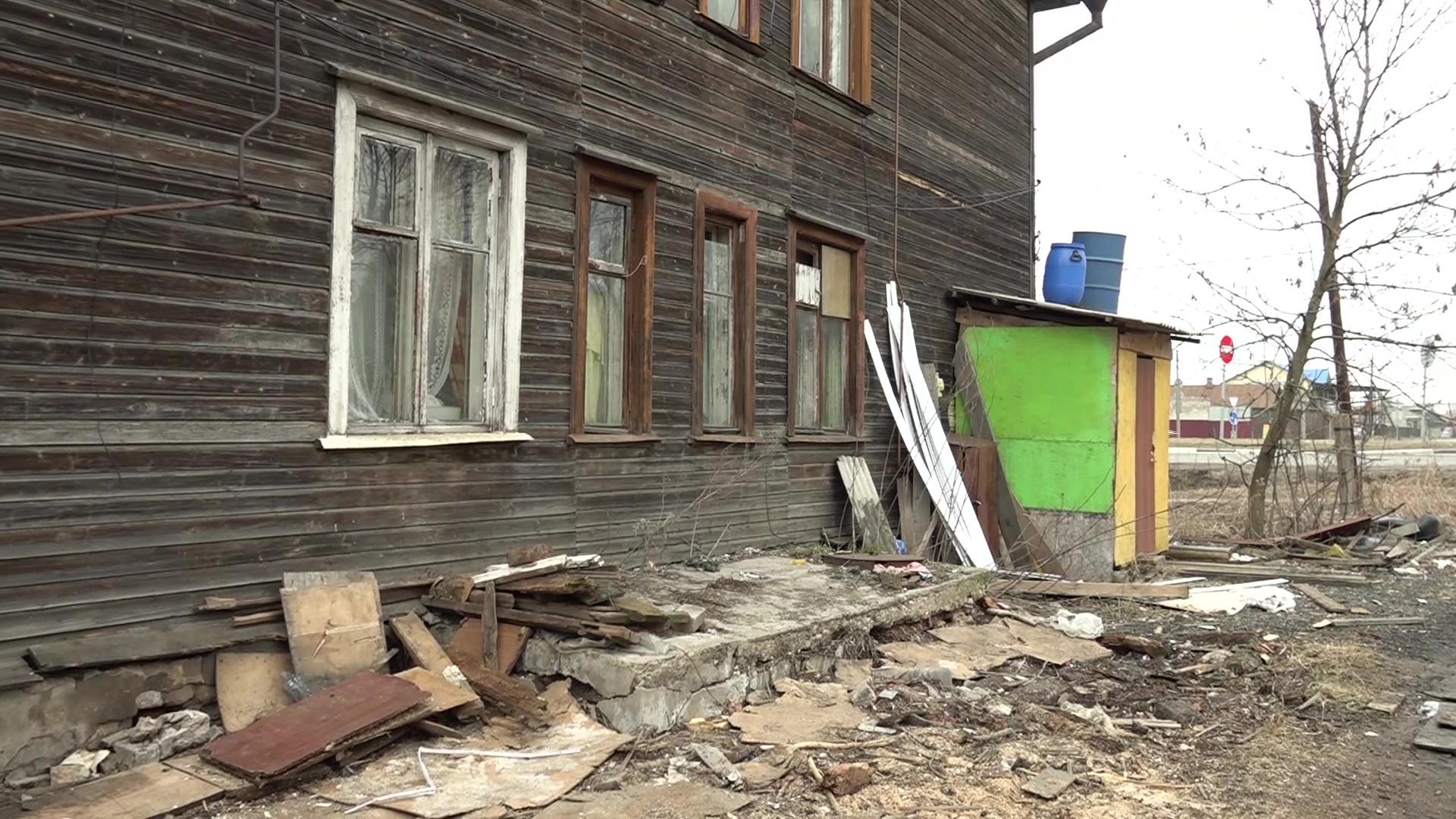 В Ростове горел многоквартирный старый барак