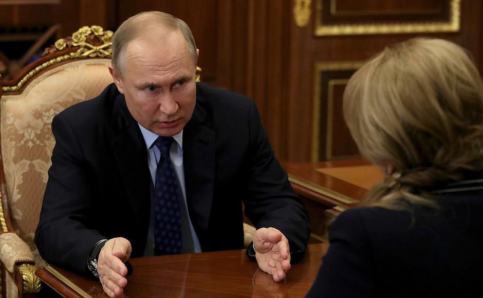 Владимир Путин допустил перенос референдума по Конституции для сохранения здоровья граждан