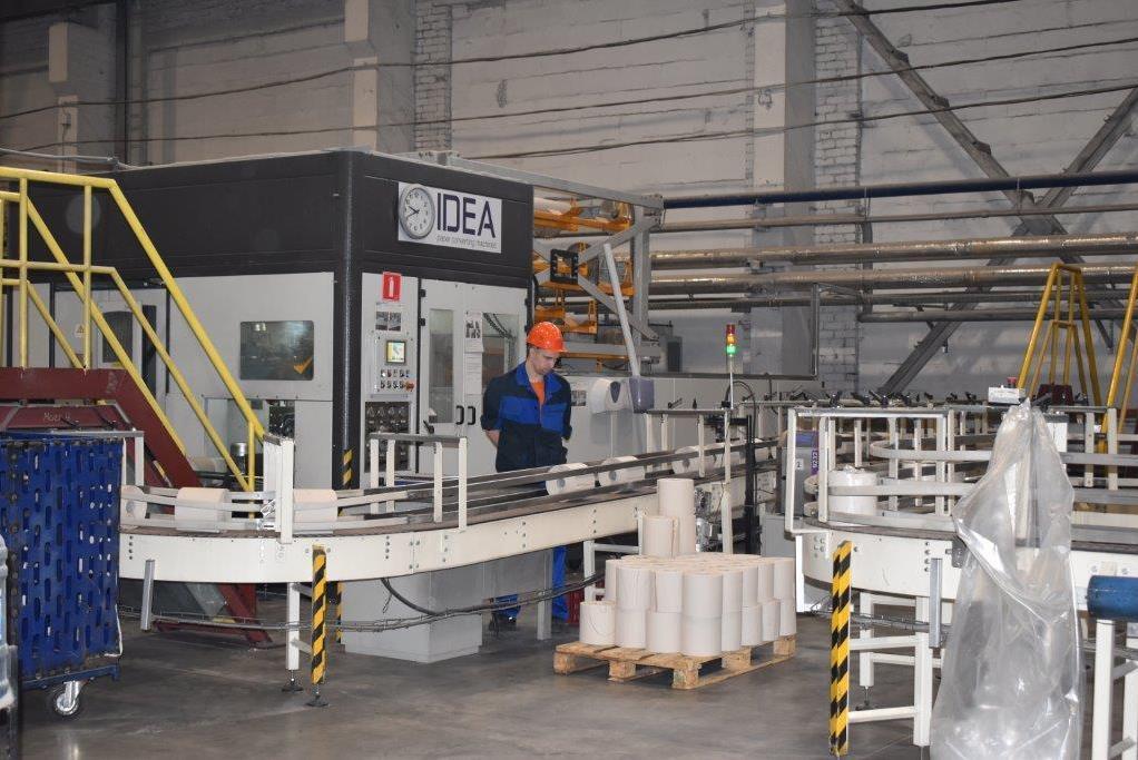 В Ростовском районе в производство бумажно-гигиенической продукции вложили 600 млн рублей
