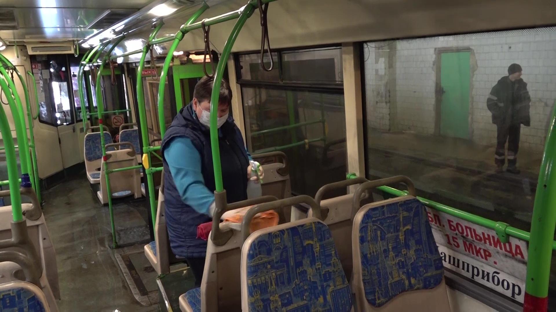 Весь транспорт Ярославской области в обязательном порядке проходит дезинфекцию