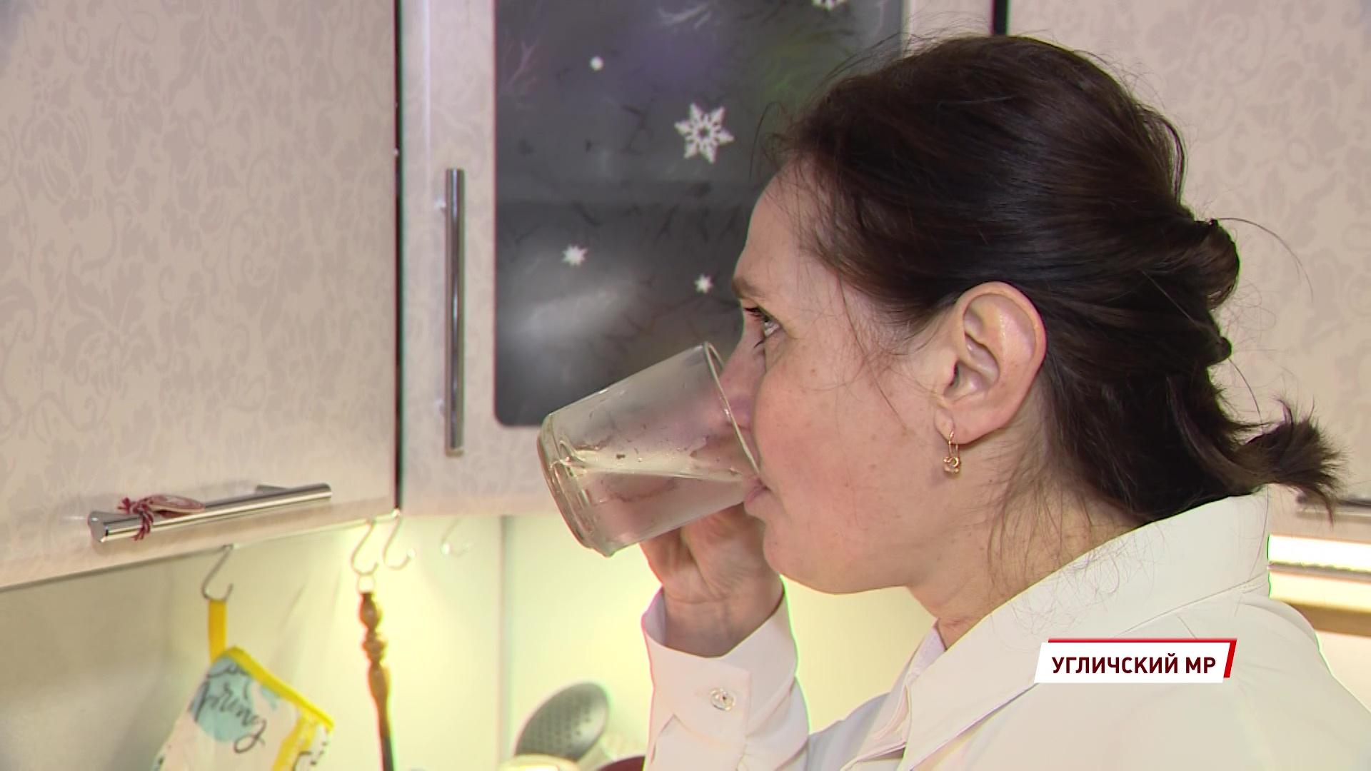 В Угличском районе продолжаются работы по улучшению качества питьевой воды