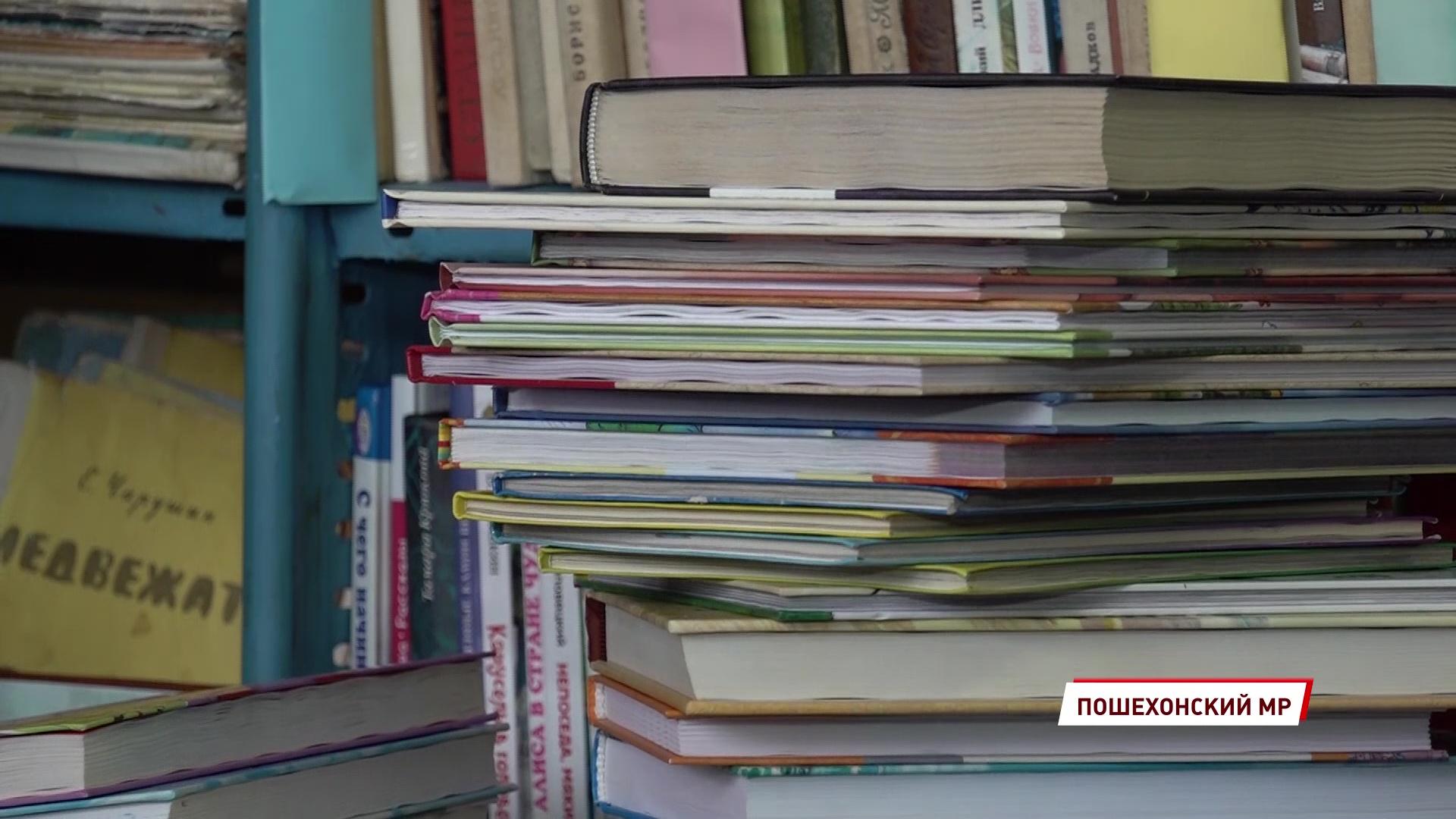 133 килограмма радости: для детей из села Белого собрали более трехсот книг