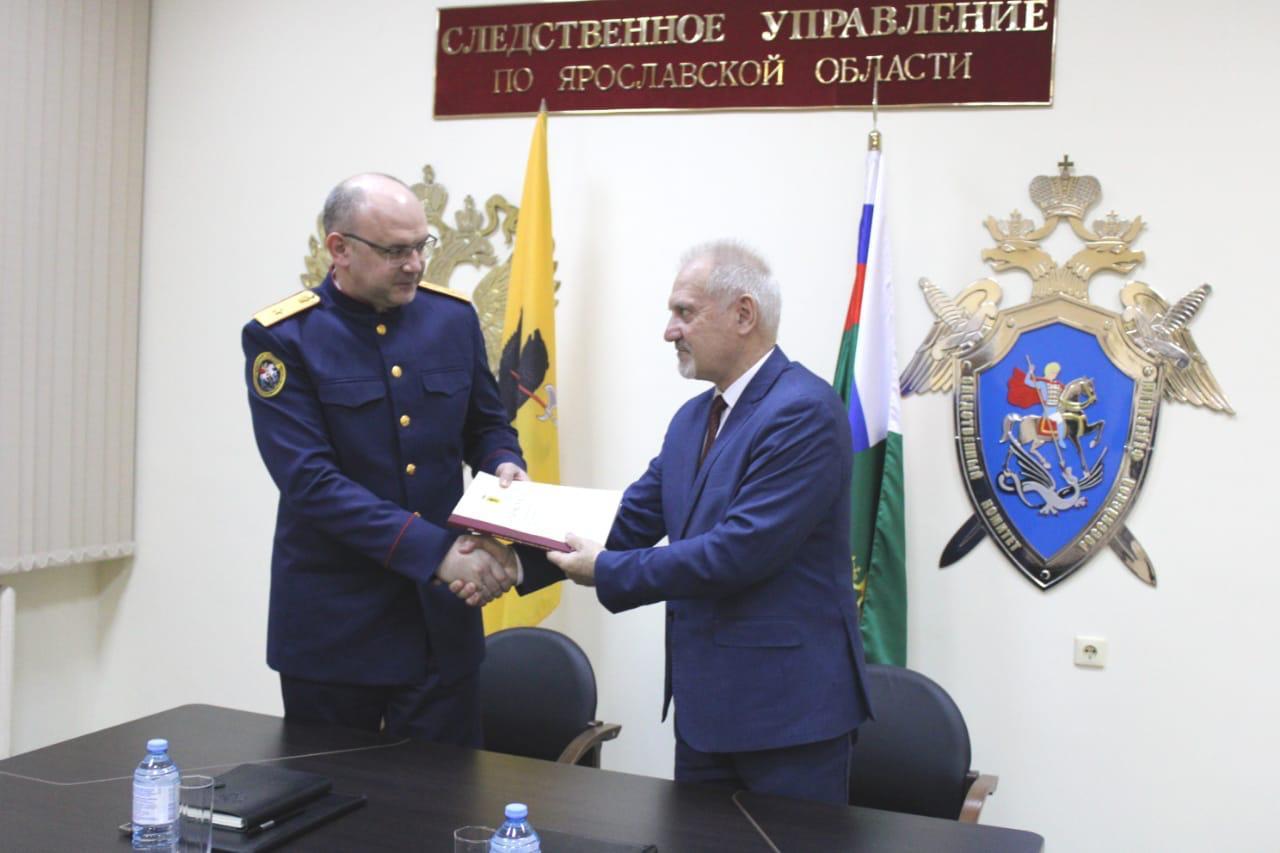 Главный следователь Ярославской области встретился с уполномоченным по правам человека в регионе