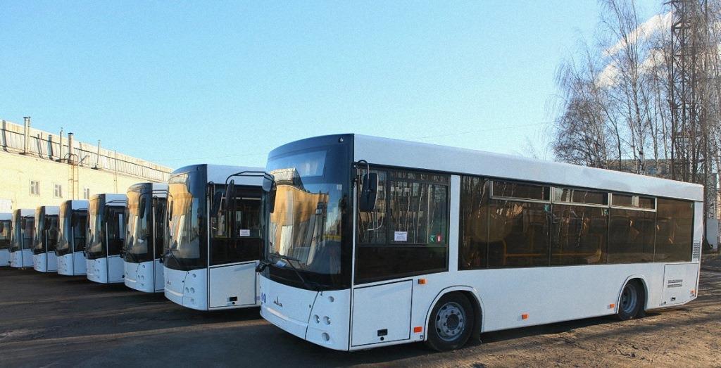 На маршруты региона выходят новые автобусы