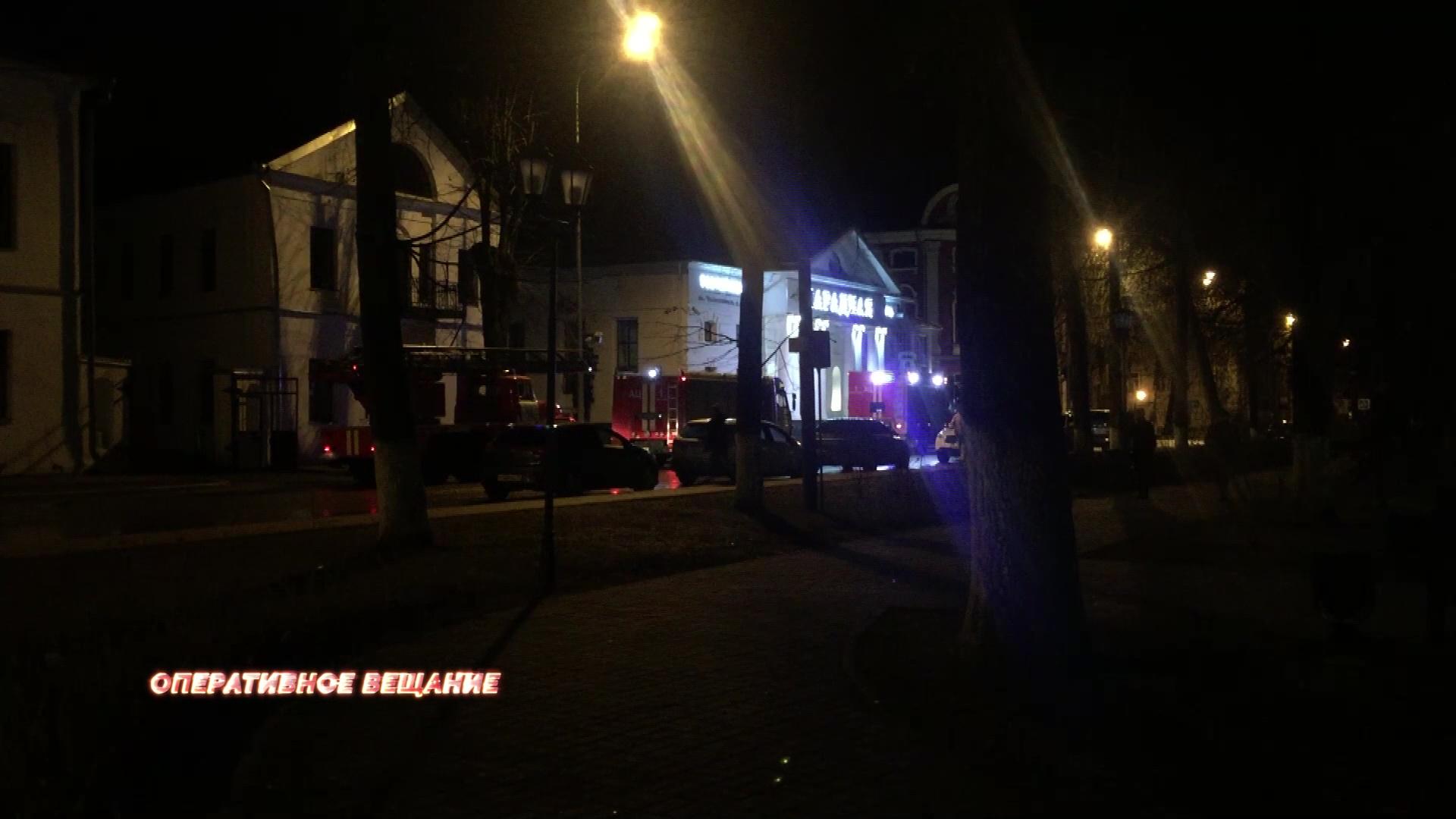 Ночью ярославцев разбудили сирены пожарных: что произошло
