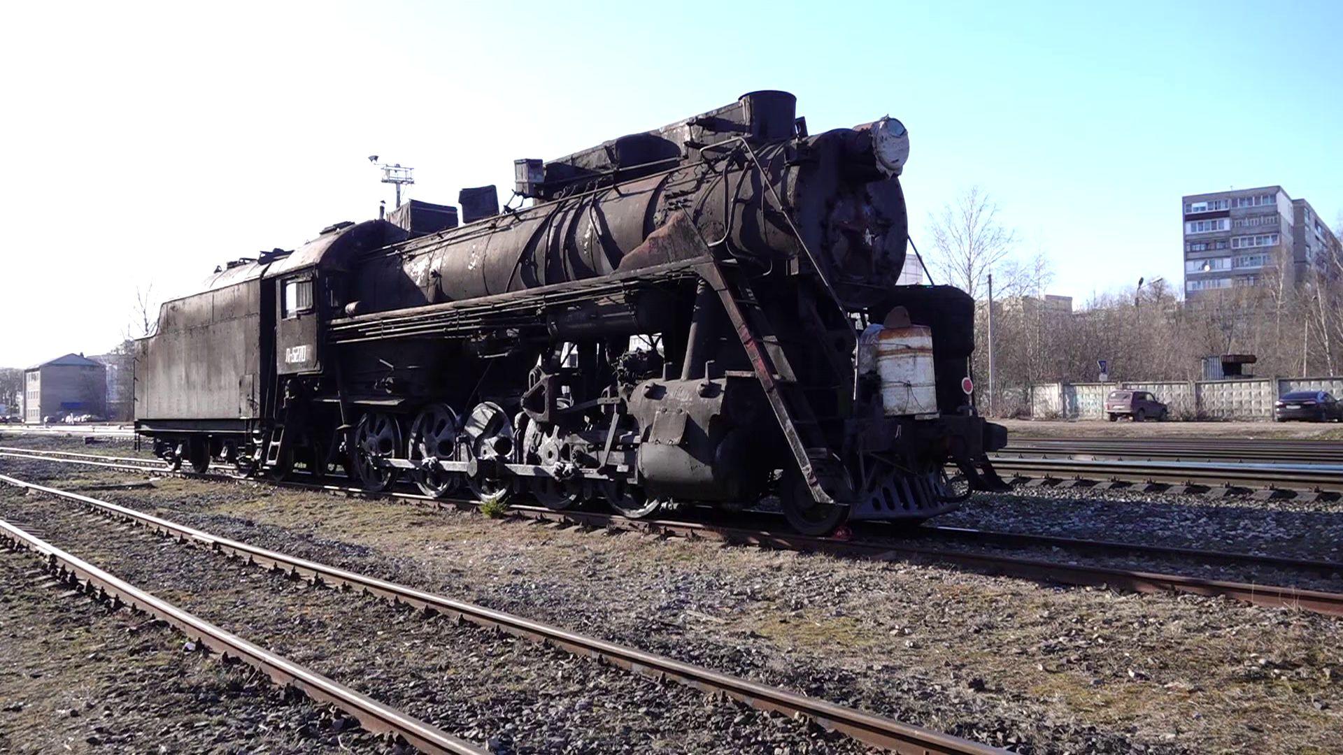 В Рыбинске восстанавливают советский паровоз, прозванный «Лебедем»