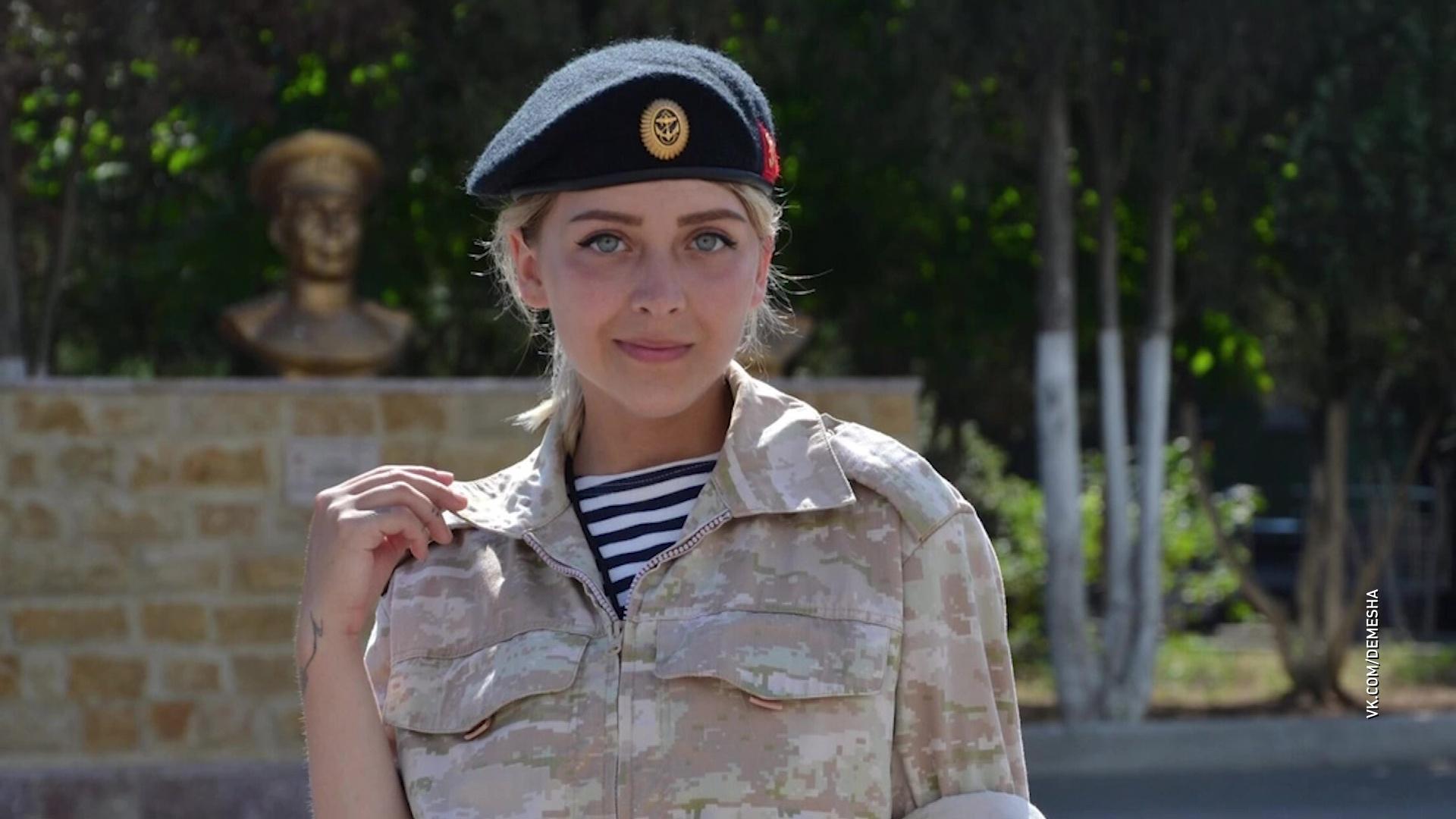 Ярославна продала бизнес и ушла в армию