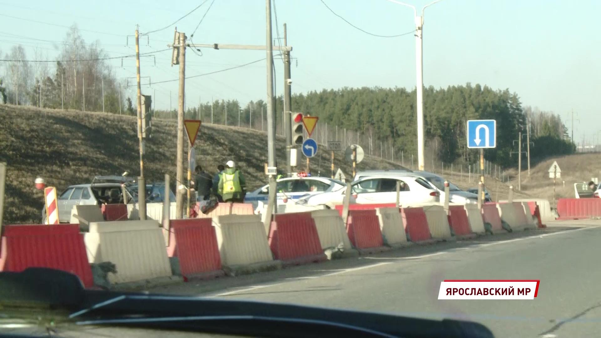 В жестком ДТП в Ярославском районе пострадала пожилая женщина