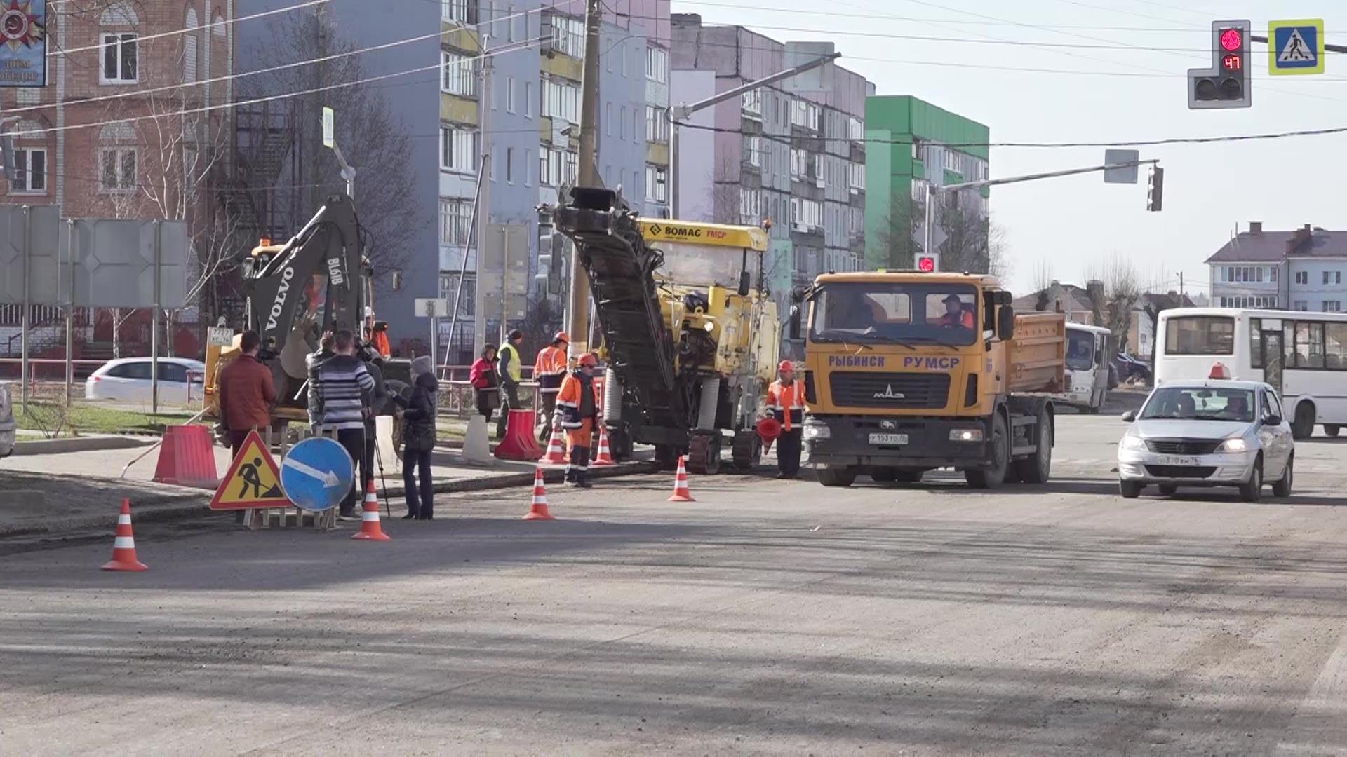 В области на полтора месяца раньше стартовал ремонт дорог в рамках национального проекта