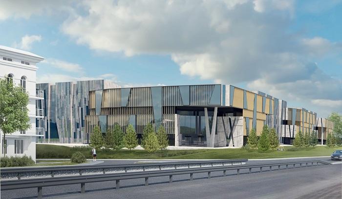 На Московском проспекте в Ярославле продолжается строительство IT-парка