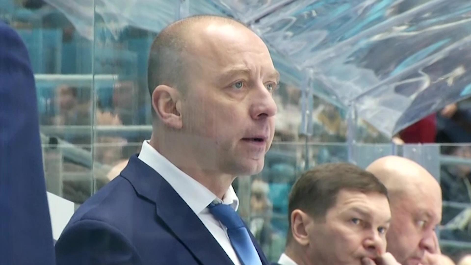 «Барыс» объявил об уходе главного тренера Андрея Скабелки