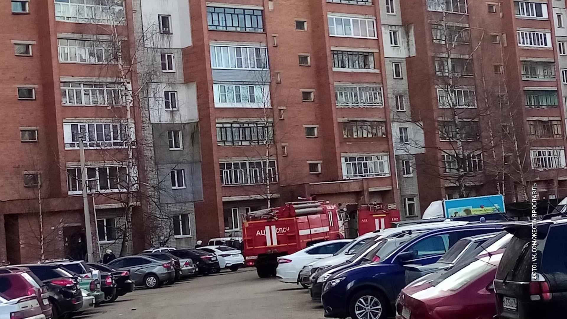 В поликлинике на Труфанова сработала пожарная сигнализация