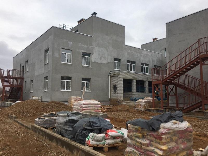Новый детский садик в Дзержинском районе могут сдать раньше срока