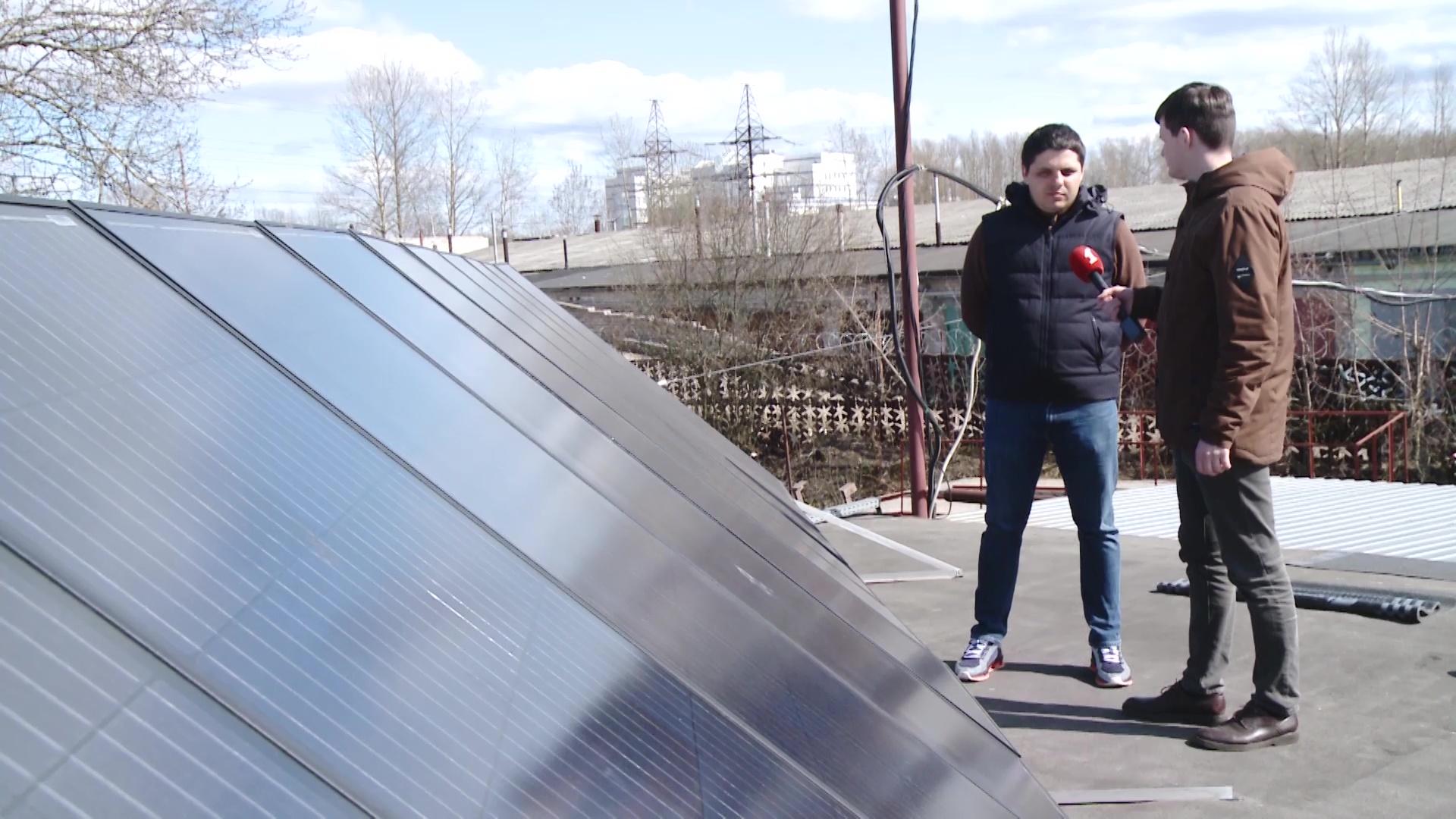 Ярославский экспериментатор проверил, насколько экономно использовать солнечные батареи