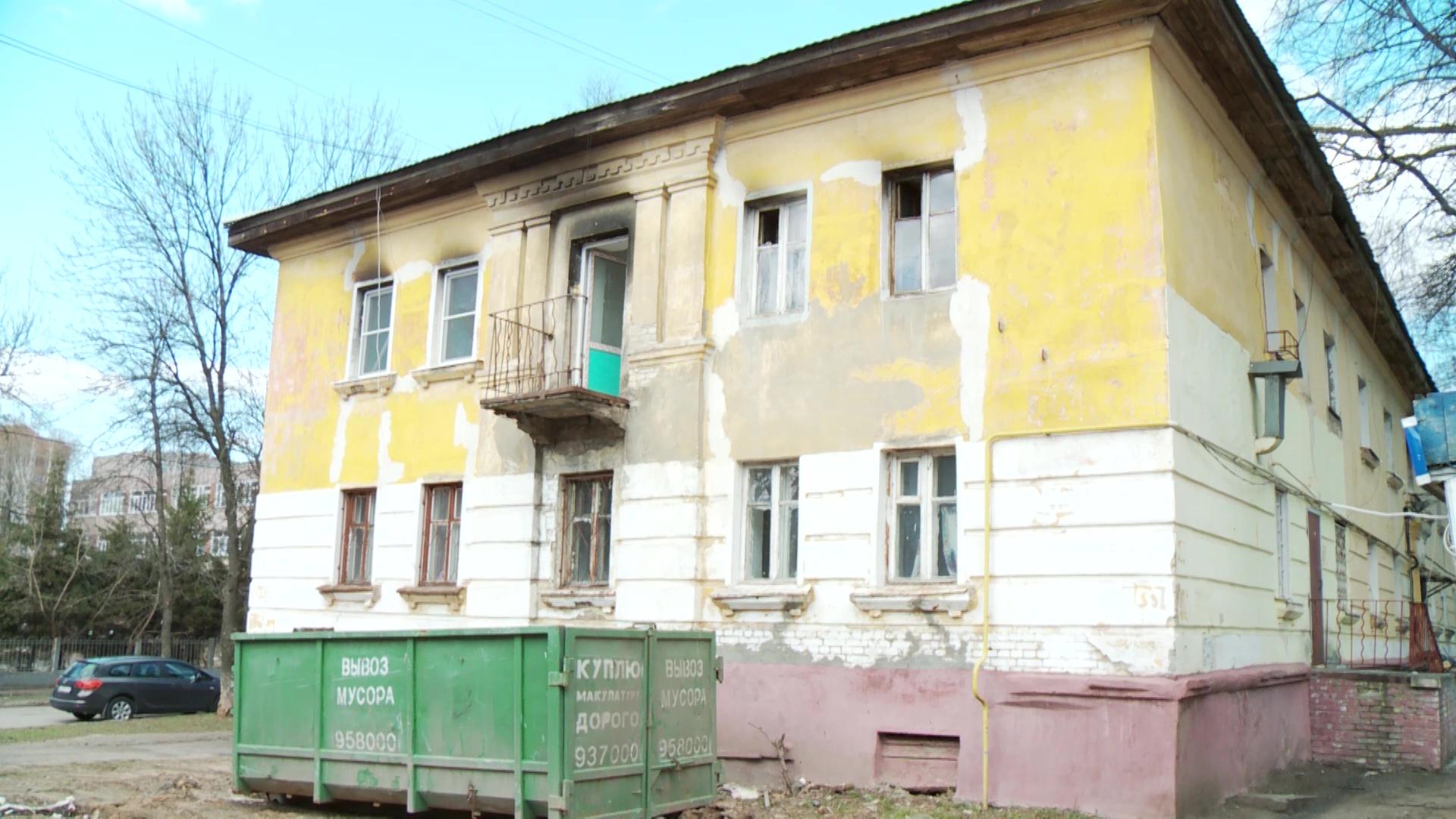 В Ярославле восстанавливают дом на Зелинского, который пострадал от пожара