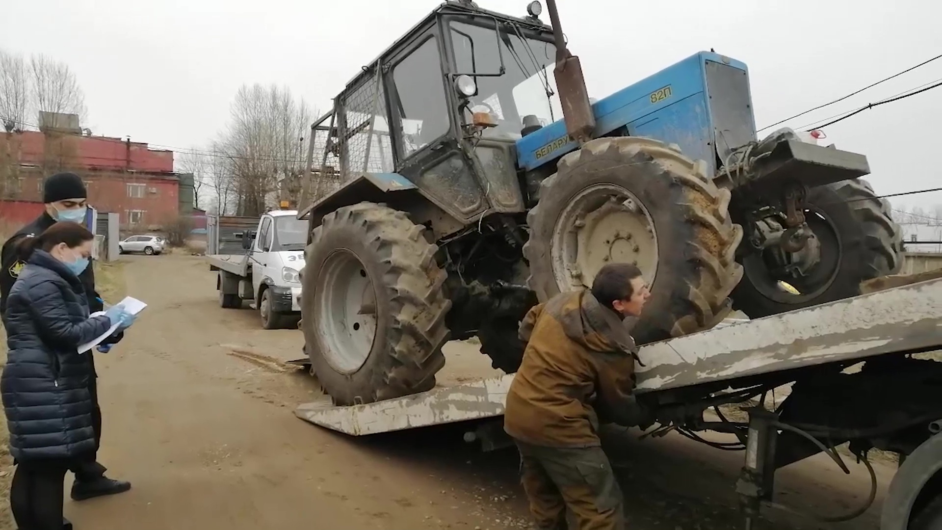 Предпринимательница из Ярославской области лишилась трактора