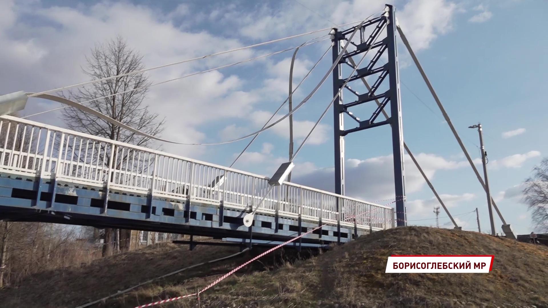 В Борисоглебском обрушился пешеходный мост, который до сих пор на гарантии: подробности
