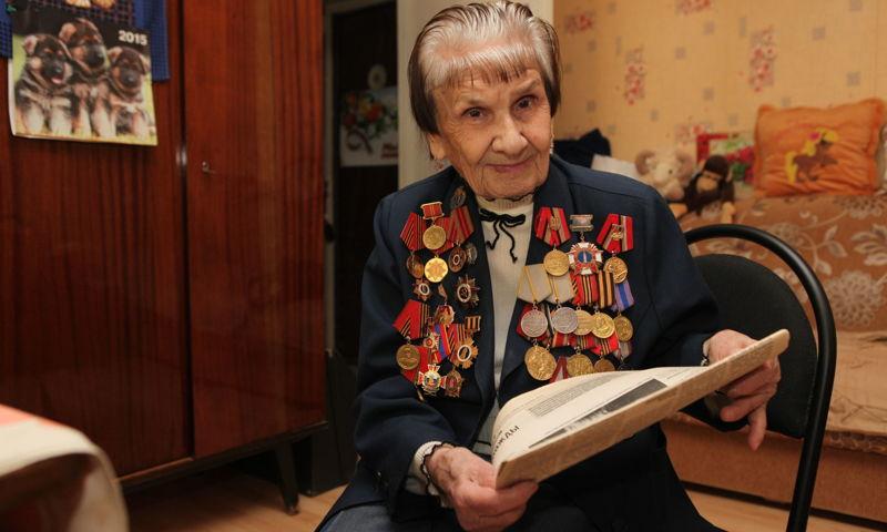На 96-м году жизни скончалась ветеран Великой Отечественной Марьяна Шестаева