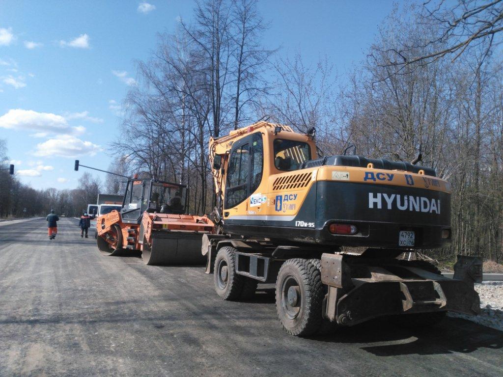 Второй этап работ на Тутаевском шоссе планируют завершить к середине мая