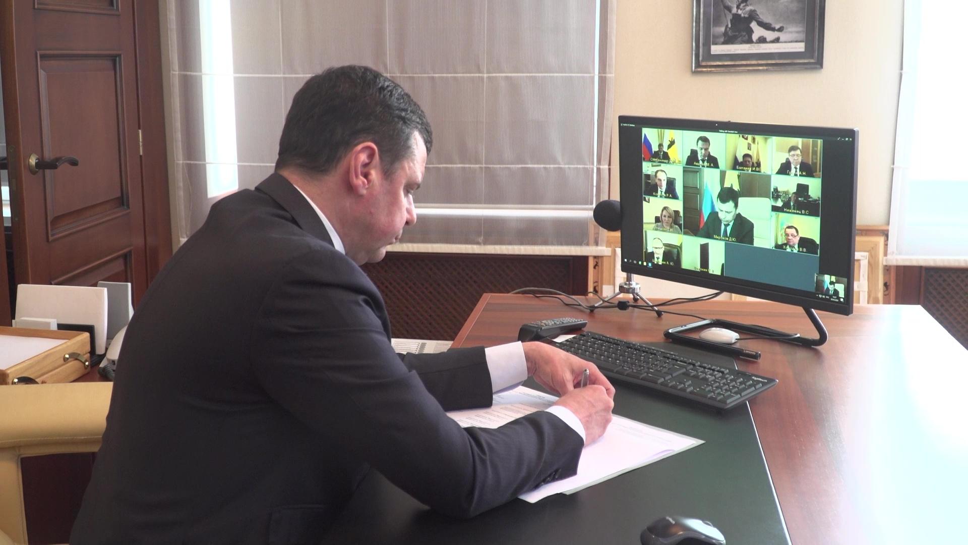 Дмитрий Миронов рассказал представителям бизнеса о новых мерах поддержки