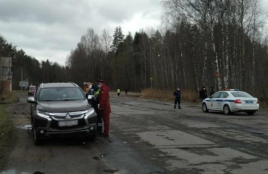 При въезде в Рыбинск открылся пост контроля