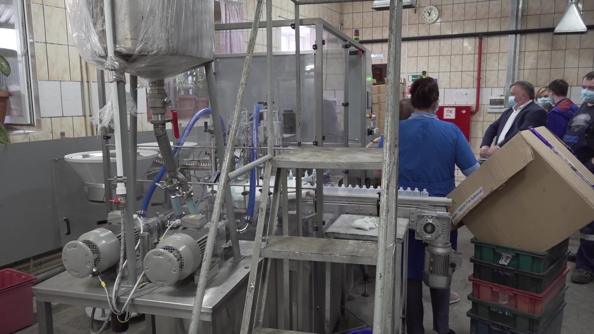 Ярославский химический завод начал выпускать антисептики вместо клея