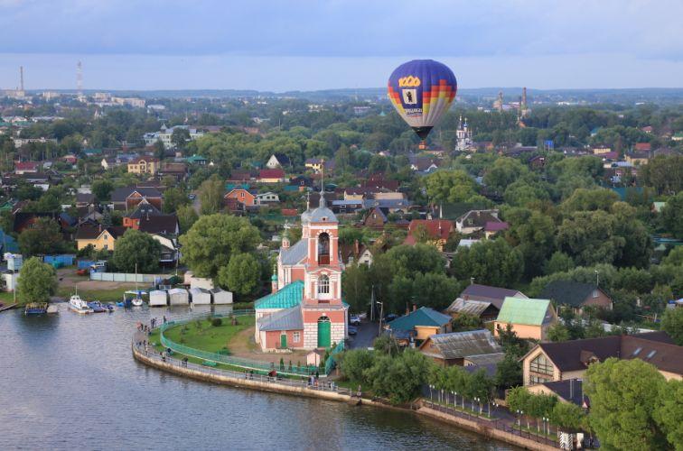 9 мая над Переславлем поднимется аэростат со знаменем Победы