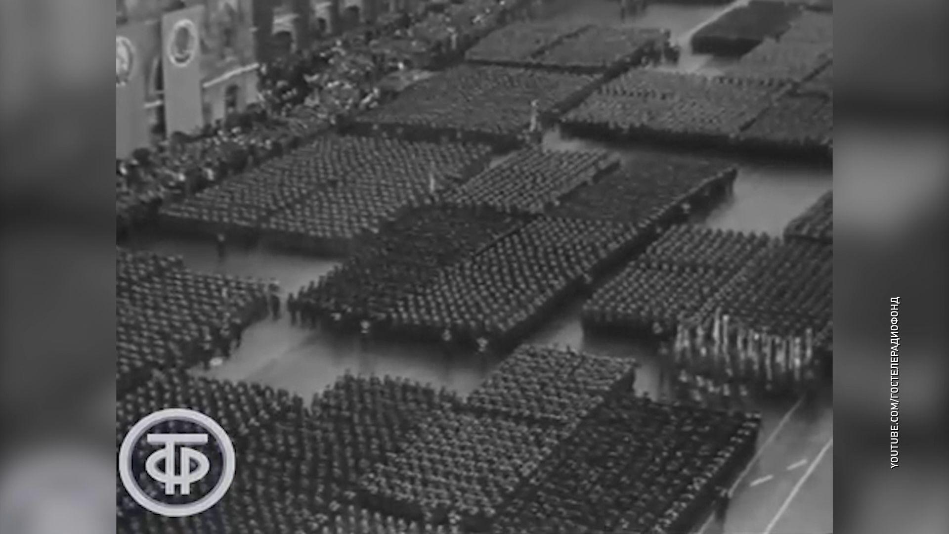 День Победы: история военных парадов в Москве и Ярославле