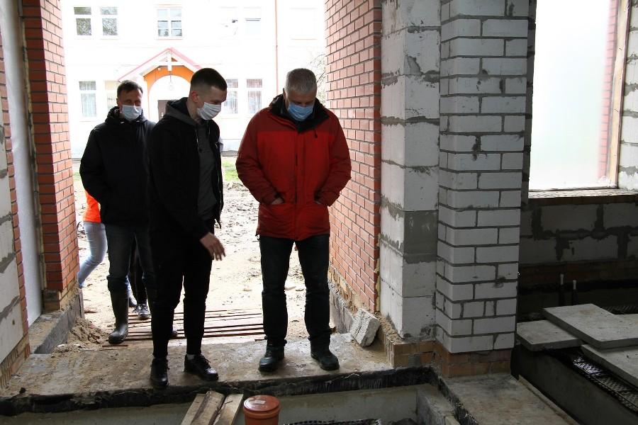 """В Рыбинске продолжается строительство школ, садиков и яслей по нацпроекту """"Демография"""""""
