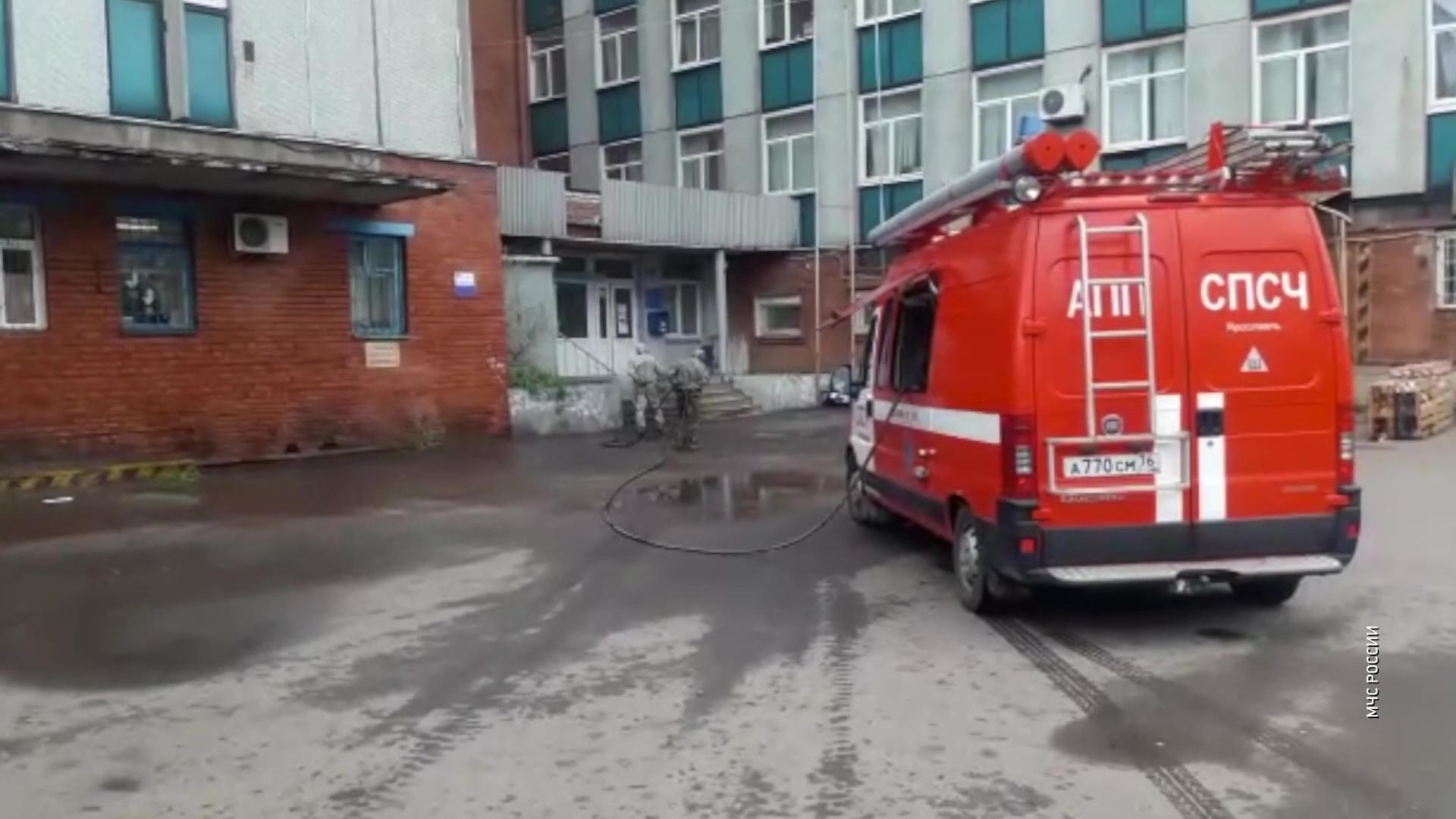 В Ярославской области дезинфицируют помещения «Почты России»