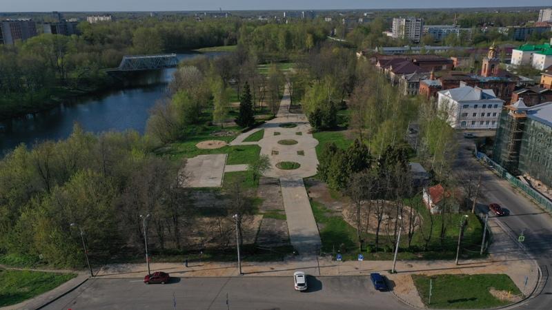 Рыбинский сквер превратят в парк развлечений с зоопарком и летним кинотеатром
