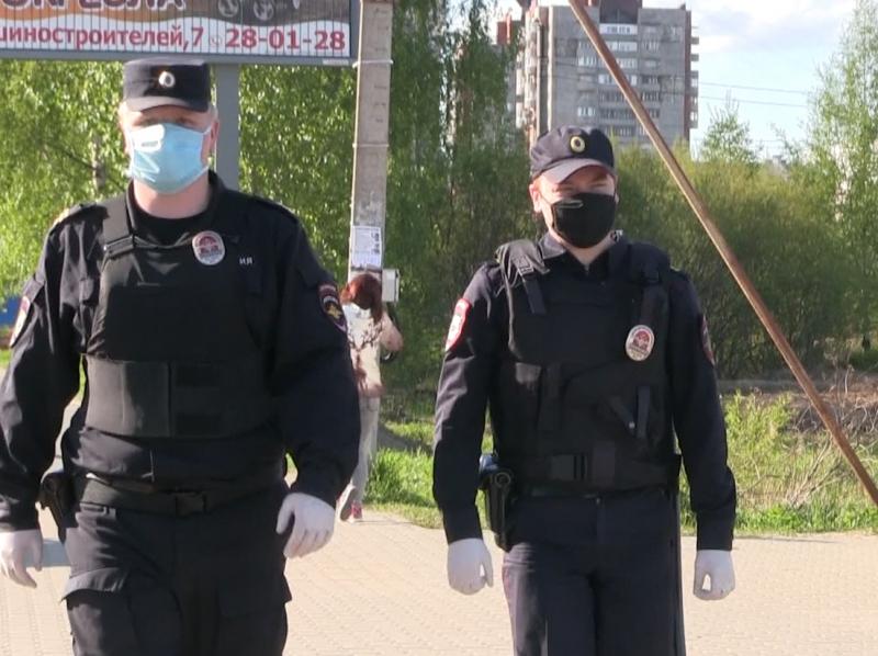 За пять дней в регионе составлено 22 протокола в отношении нарушителей масочного режима
